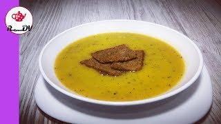 Пряный  Тыквенный суп-пюре без муки, без картофеля и без крахмала! Безумно вкусно!