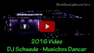 Brad's Xmas Lights 2016: Music Box Dancer