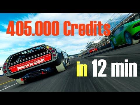 Fast MONEY in GT Sport - . Cr. in  min (. UPDATE)