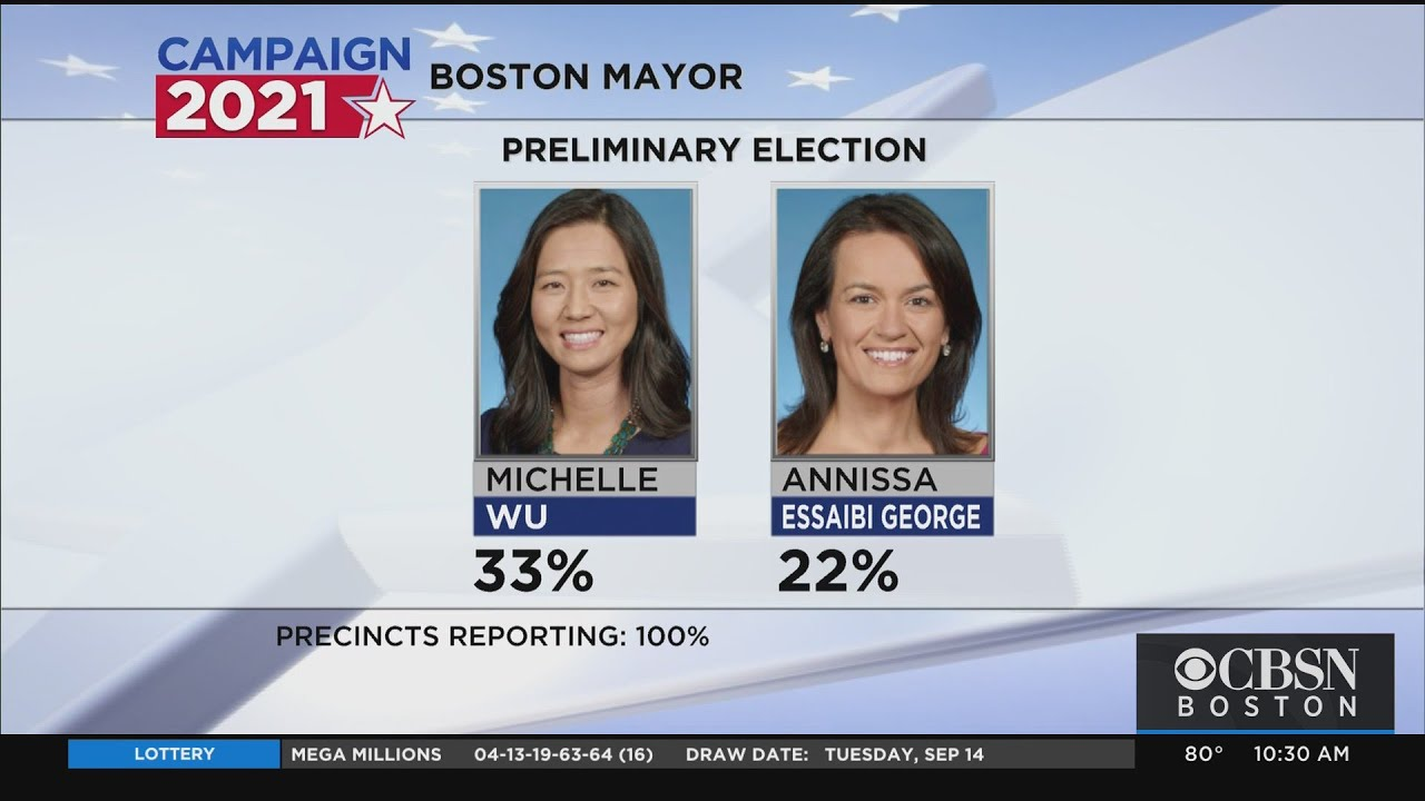 Boston mayoral election results: Michelle Wu and Annissa Essaibi ...
