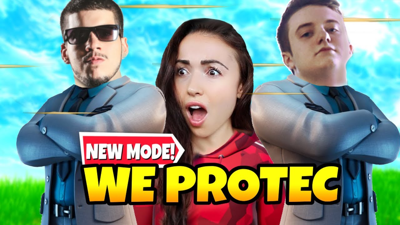 Download *NEW* Bodyguard Game Mode is AMAZING w/ TypicalGamer Samara and NowahWPlays