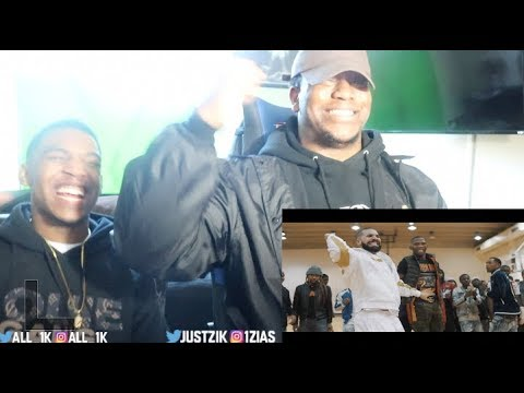 BlocBoy JB & Drake Look Alive Prod By: Tay Keith (Official Music Video)- REACTION
