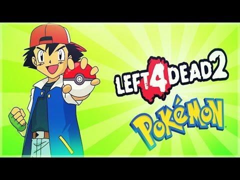 Left 4 dead 2 - Pokemon Edition - Coach Snorlax -  Comedy Gaming