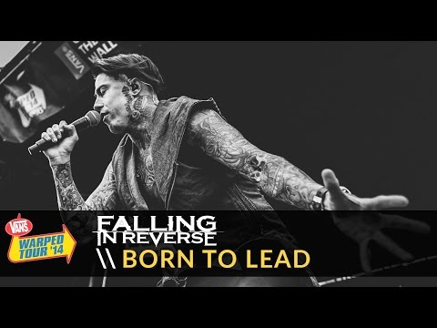 "Falling in Reverse ""Born To Lead"" Live 2014 Vans Warped Tour"