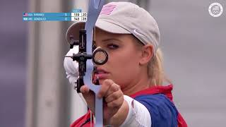 Paige Pearce Takes Bronze In Women's Archery | Pan American Games Lima 2019
