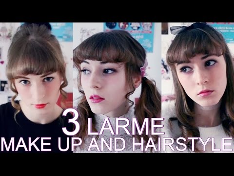 TUTO ♥ 3 LARME Make up & Hair + special intro