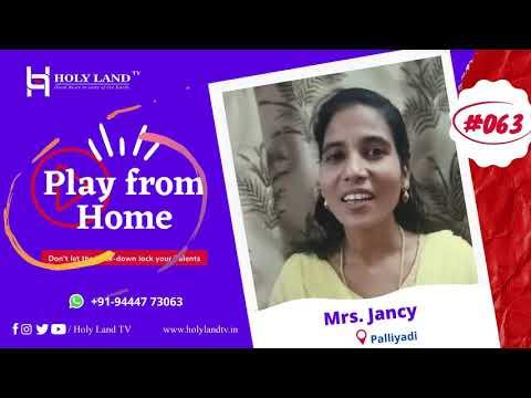🔴#-063-mrs.-jancy-|-palliyadi-|-play-from-home-|-holyland-tv