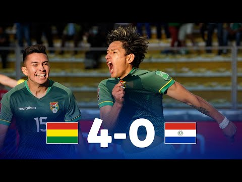 Bolivia Paraguay Goals And Highlights