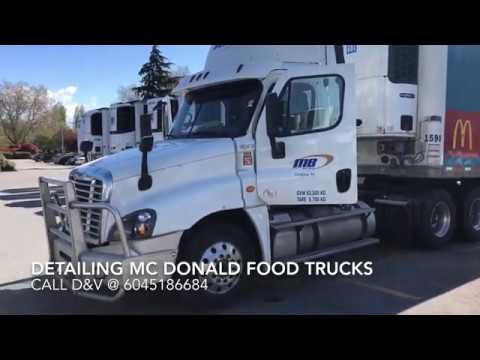 Detailing McDonalds Trucks by Team D&V
