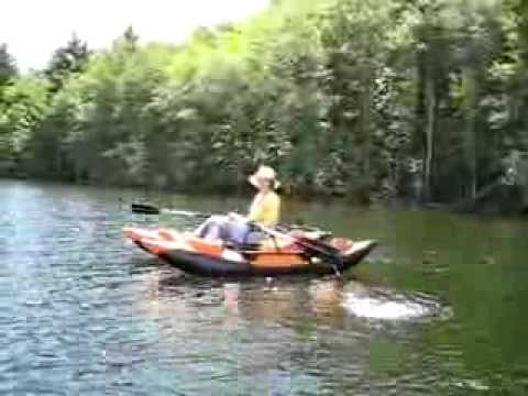 Afloat on my colorado fly fishing pontoon boat youtube for Fly fishing pontoon