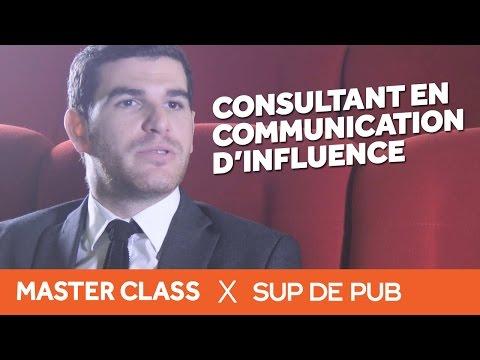 Interview Julien Tahmissian : Consultant En Communication D'Influence (Master Class 2015 Sup De Pub)