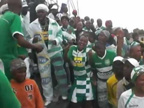 Bloem Celtic fans Telkom Cup