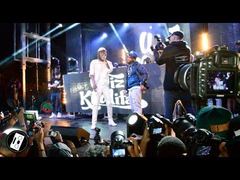 Wiz Khalifa & Curren$y perform CAR SERVICE - LIVE @ A3C | ATLANTA 2015