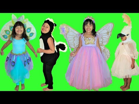 11 Halloween Costumes Dress up Animal Costumes Princess Butterfly Fairy