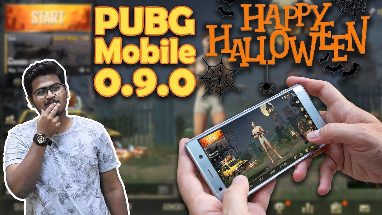PUBG Mobile 0.9.0 version Download - Night Mode - Halloween theme 😱