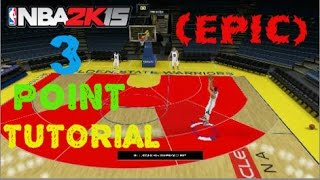 NBA 2k15 Tips and Tricks - How To Make More 3's In a Game! (3 Point Shooting Fundamentals) Thumbnail
