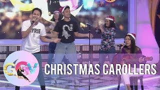 "GGV Pre-Show: Here's a nice Christmas carol from ""Tropa ni Gelli"" 