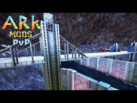 Ark Survival Evolved PVP c MODS 6 - PONTE SILVER GATE