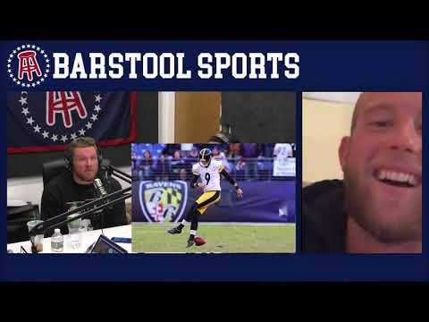 The Pat McAfee Show Simulcast Ep. 99- Pat and Chris Boswell Talk Game Winning Field Goals 11-28-17