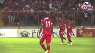 Este fue el gol de Panamá, Blas Pérez encendió el Rommel Fernández