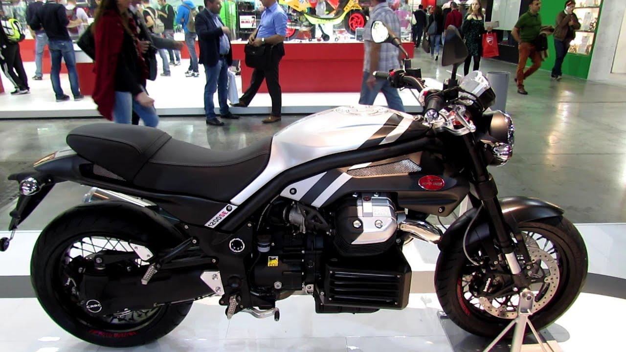 2014 Moto Guzzi Griso 1200 8V SE Walkaround - 2013 EICMA Milan ...