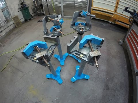 Metalwork Monday 4 - Stronghand Tools 3 Axis Vise/Vice Fixture Fabrication