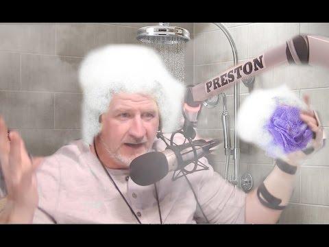 Preston shampoos his pubes - Preston & Steve