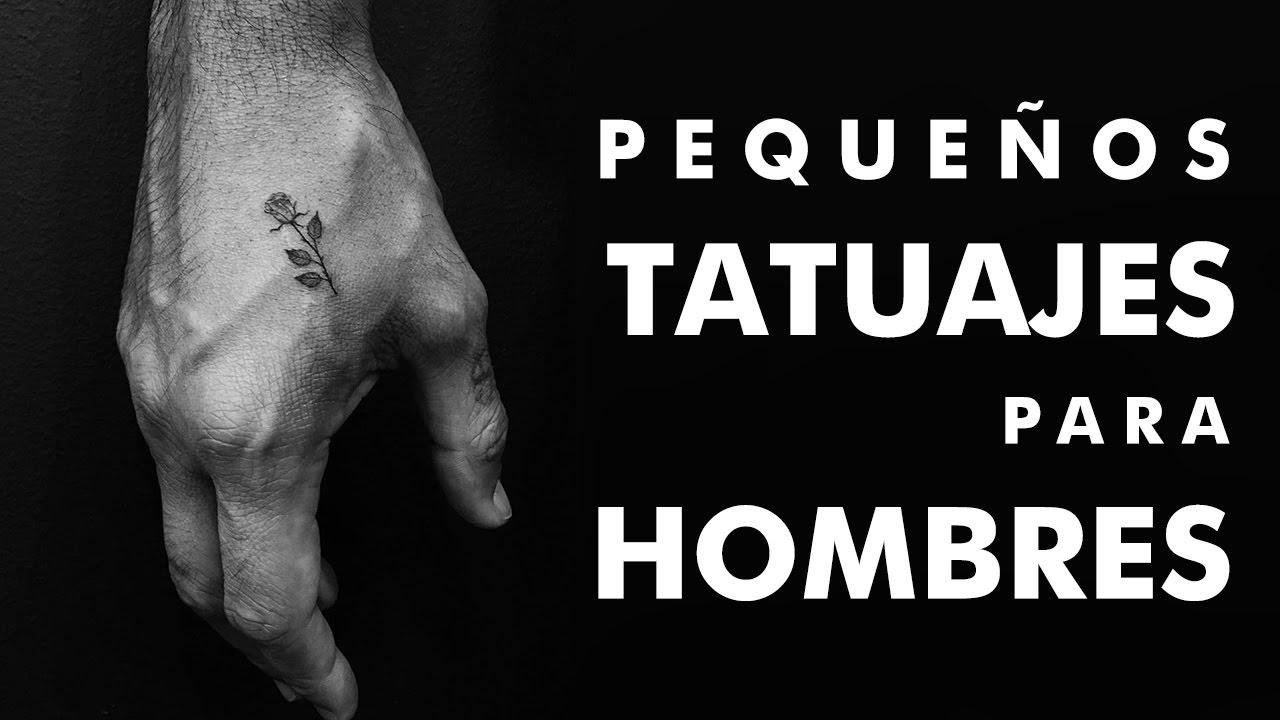 Pequeños Tatuajes Para Hombres Youtube