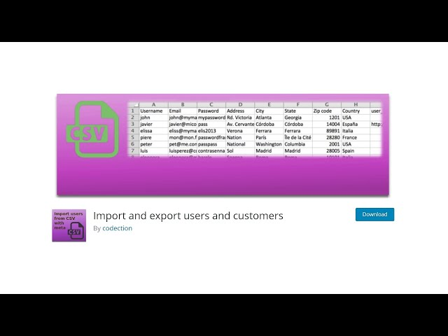 How To Export WordPress Users or Costumers List To Import In Another Website?