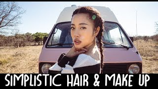 Living In A Van - Get Ready With Me + Hair & Make Up