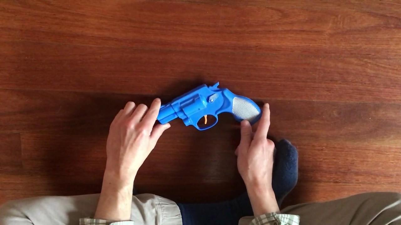 Toy .357 Revolver Police Set
