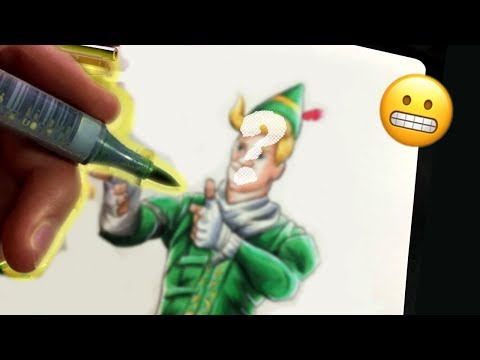 When A CARTOONIST Tries to draw REALISTICALLY….  | Art Style Swap Challenge with Anthony Miller