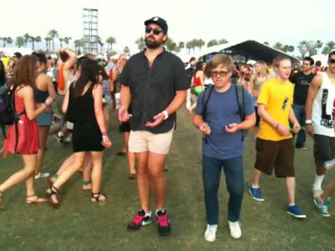 Doin the Coachella Strut (C-strut)