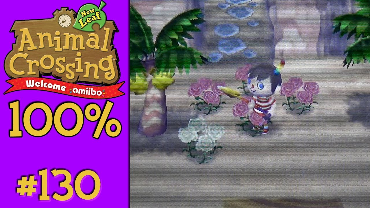 Animal Crossing New Leaf 100 130 White Carnations Youtube