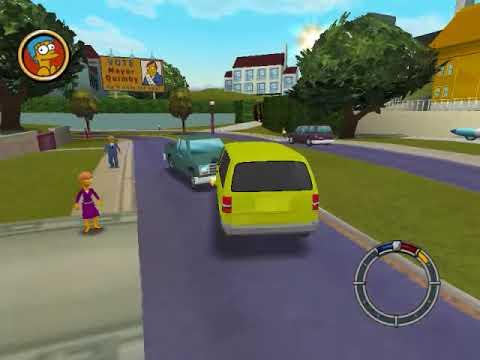 The Simpsons Hit & Run Ford Aerostar