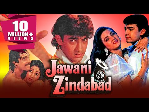 Jawani Zindabad 1990 Full Hindi Movie  Aamir Khan, Farha Naaz, Javed Jaffrey, Kader Khan