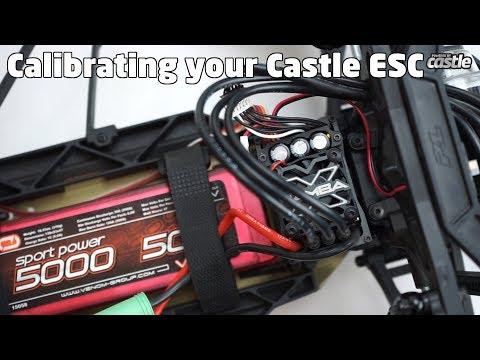Castle ESC Calibration - YouTube