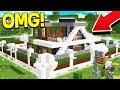 WORLD'S SMARTEST MINECRAFT REDSTONE HOUSE!