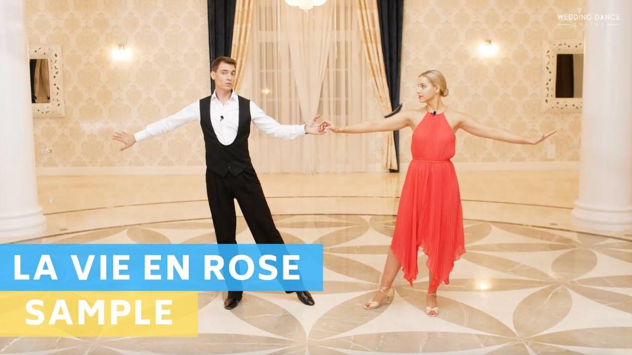 Sample tutorial : La Vie En Rose - Daniela Andrade | Wedding Dance | First Dance Online