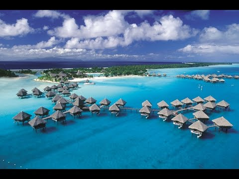 Around island of Bora Bora HD