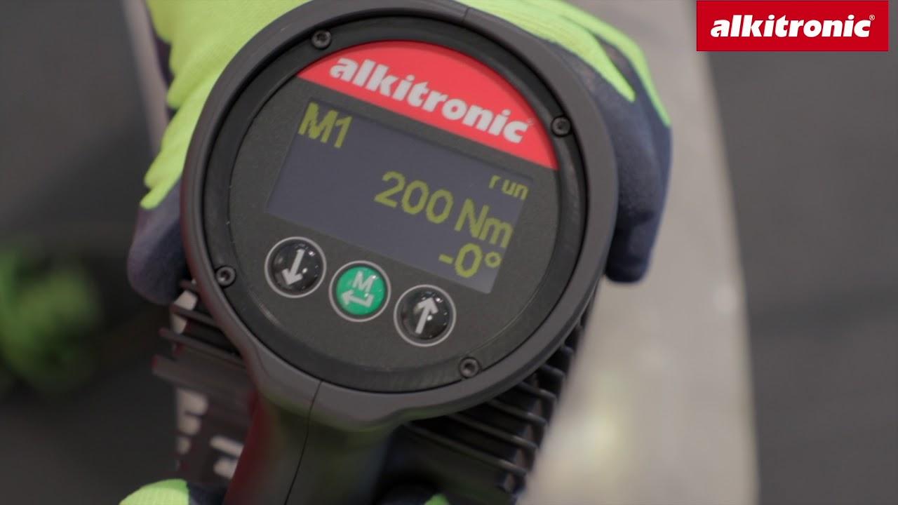 alkitronic electric torque multiplier EFCip 40 Modus 1 - english