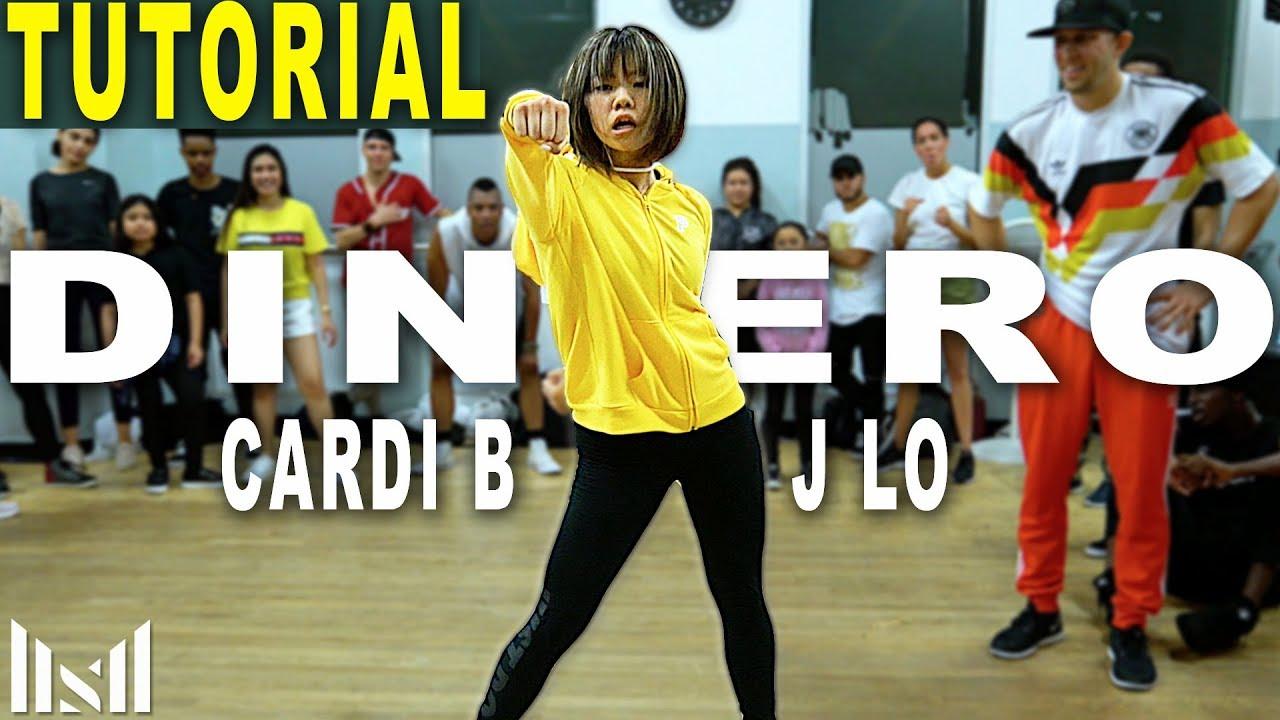 0675a90c538 DINERO - Jennifer Lopez   Cardi B Dance Tutorial