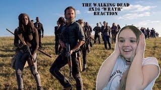 The walking dead 8x16 'Wrath' reaction FINALE
