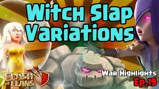 TH9 Witch Slap Special - Clash of Clans - War Highlights - Ep19