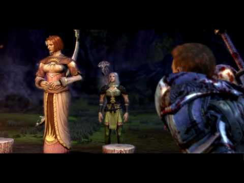 Dragon Age: Origins - Leliana singing (Leliana cantando)