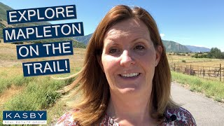 Explore Mapleton from the trail!