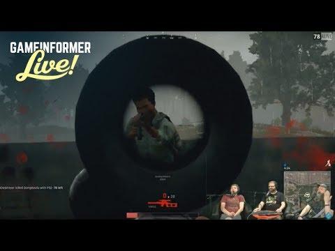 GI Live  - PlayerUnknown's Battlegrounds (The Game Informer Jamboree)
