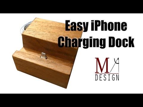 DIY iPhone Charging Dock
