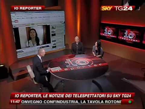 SayakaAlessandra on Sky Italia (national Italian television)