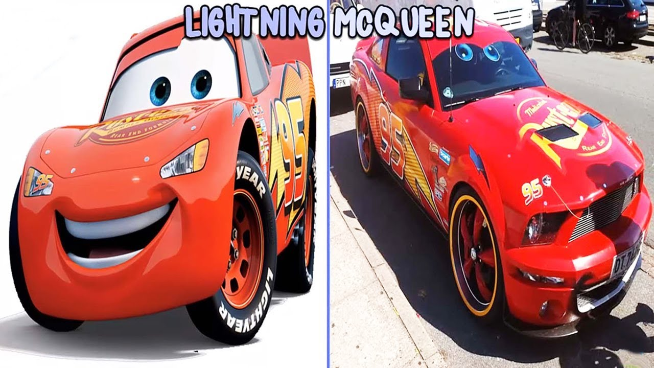 Cars Characters In Real Life 2018 Youtube